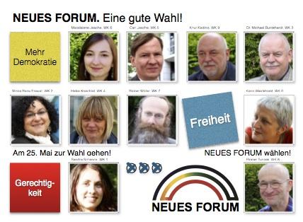 Gute Wahl: Neues Forum
